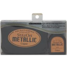 Stazon Metallic Ink Kit Copper