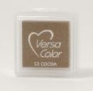 "VersaColor Pigment Inkpad 1"" Cube - Cocoa"