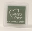 "VersaColor Pigment Inkpad 1"" Cube - Tropical Green"