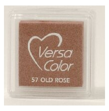 VersaColor Pigment Inkpad 1´ Cube Old Rose
