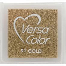 VersaColor Pigment Inkpad 1´ Cube Gold