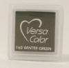 """VersaColor Pigment Inkpad 1"""" Cube - Winter Green"""