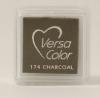 "VersaColor Pigment Inkpad 1"" Cube - Charcoal"