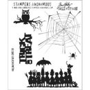 Tim Holtz Cling Rubber Stamp Set - Halloween Cutouts