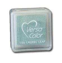 "VersaColor Pigment Inkpad 1"" Cube Laurel leaf"