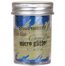 Stampendous Micro Glitter - China blue