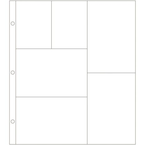 Project Life Photo Pocket Pages 12/Pkg - Design G