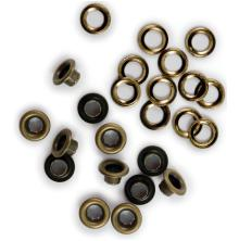 We R Memory Keepers 3/16 Eyelets & Washers 30/Pkg - Brass