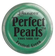 Ranger Perfect Pearls Pigment Powders - Festive Green