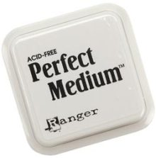 "Ranger Ink Perfect Medium Stamp Pad 3""X3"""