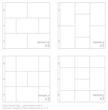 Project Life Page Protectors 12/Pkg - Small Variety Pack 6