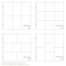 Project Life Page Protectors 12/Pkg - Small Variety Pack 4