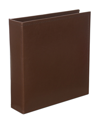 Project Life Classic Faux Leather D-Ring Album 6X8 - Cinnamon