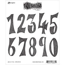 Dyan Reaveleys Dylusions Cling Stamp Collection - One In Ten
