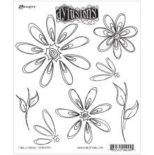 Dyan Reaveleys Dylusions Cling Stamp Collection - Fancy Florals