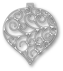 Memory Box Poppystamp Die - Luxe Ornament Outline