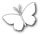 Memory Box Poppystamp Die - Whidbey Butterfly