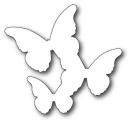 Memory Box Die - Floating Butterflies Background