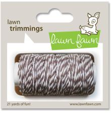Lawn Fawn Trimmings Hemp Cord 21yd - Hot Cocoa