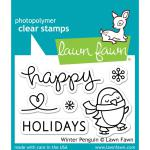 Lawn Fawn Clear Stamps 3X2 - Winter Penguin