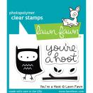 Lawn Fawn Clear Stamps 3X2 - You`re A Hoot