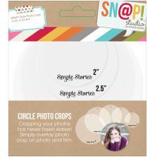Simple Stories Snap Photo Crops 5/Pkg - Circle