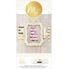Heidi Swapp Minc Jumbo Paper Alphabet 38/Pkg