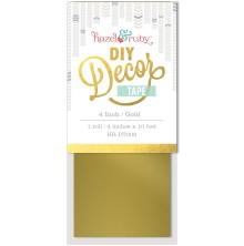 Hazel and Ruby 4 Inch DIY Decor Tape - Gold UTGÅENDE