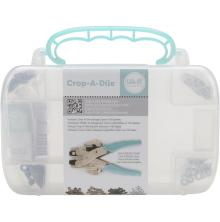 We R Memory Keepers Crop-A-Dile Carrying Case - Teal