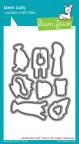 Lawn Fawn Custom Craft Die - Here's The Scoop