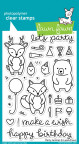 Lawn Fawn Clear Stamps 4X6 - Party Animal