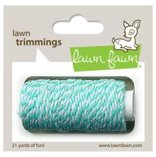 Lawn Fawn Trimmings Hemp Cord 21yd - Aquamarine