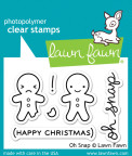 Lawn Fawn Clear Stamps 3X2 - Oh Snap