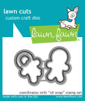 Lawn Fawn Custom Craft Die - Oh Snap