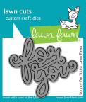 Lawn Fawn Custom Craft Die - Scripty For You