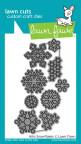 Lawn Fawn Custom Craft Die - Mini Snowflakes