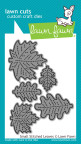 Lawn Fawn Custom Craft Die - Small Stitched Leaves