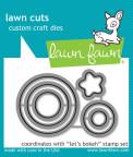 Lawn Fawn Custom Craft Die - Lets Bokeh