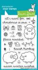 Lawn Fawn Clear Stamps 4X6 - Baaah Humbug