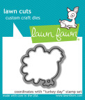 Lawn Fawn Custom Craft Die - Turkey Day