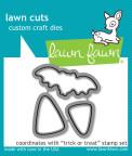 Lawn Fawn Custom Craft Die - Trick Or Treat