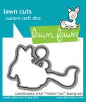 Lawn Fawn Custom Craft Die - Winter Fox