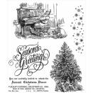 Tim Holtz Cling Rubber Stamp Set - Christmas Magic