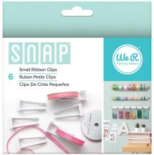 We R Memory Keepers Snap Storage Ribbon Clips 6/Pkg - Small