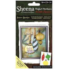 Sheena Douglass Perfect Partners Festive Fancies Die - Festive Baubles