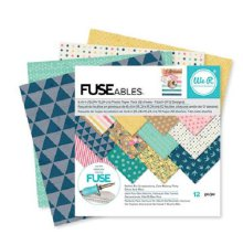 We R Memory Keepers FUSEables Paper Pad 6X6 12/Pkg