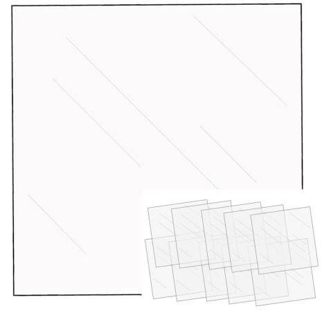 We R Memory Keepers FUSEables Fuse Clear Sheets 12X12