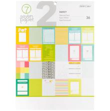 Seven Paper Single-Sided Paper Pad 9X12 36/Pkg - Darcy UTGÅENDE