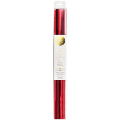 Heidi Swapp Minc Reactive Foil 12.25X10 Roll - Red