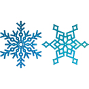 Cherry Lynn Designs Snowflakes set 1